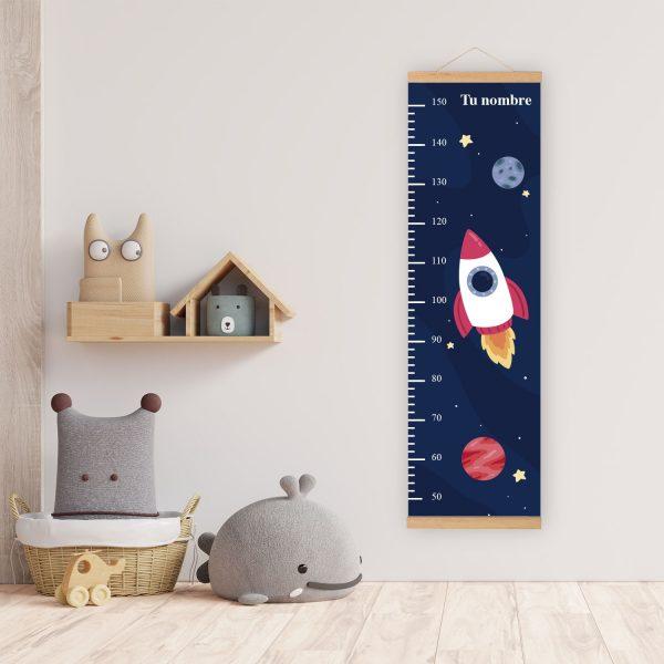 Medidor Espacio Cohete